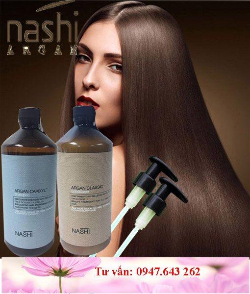 Dầu gội xả nashi argan chống rụng tóc 1000ml