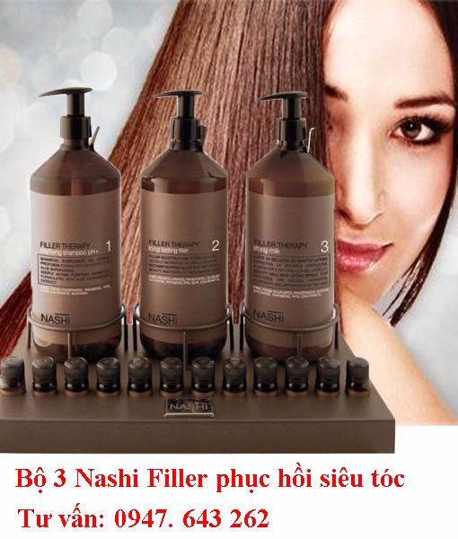 Phục hồi tóc hư tổn Nashi filler