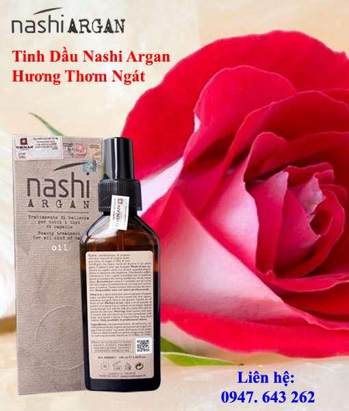 Tinh dầu đưỡng tóc Nashi Argan